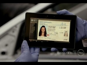 BlackBerry PlayBook Spotted on Rizzoli and Isles
