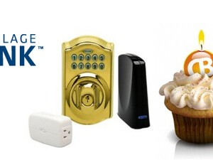 CrackBerry Birthday Contest: Win a Schlage LiNK Lock Starter Bundle and one-year of free service!