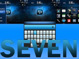 Seven - Blue for BlackBerry 7 devices - We have 25 copies to give away