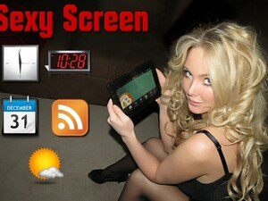 Spice up your BlackBerry PlayBook with Sexy Screen