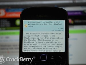 SideSwipe news reader for BlackBerry now seeking beta testers