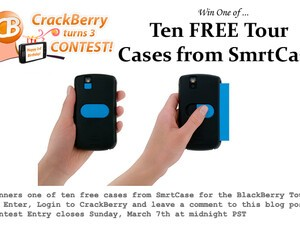 CrackBerry Turns 3 Birthday Contest: Win One of Ten SmrtCase's for the BlackBerry Tour