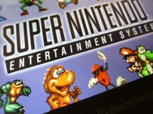 Play SNES games on your BlackBerry PlayBook