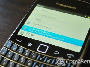 Official OS 7.1.0.342 for the BlackBerry Bold 9900 from Cellcom Israel