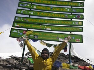 Redefine Possible - Spencer West reaches the summit of Mt. Kilimanjaro