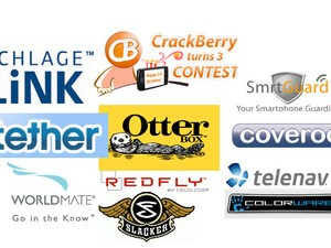 CrackBerry Turns 3 Birthday Contests: Thank You Sponsors!!