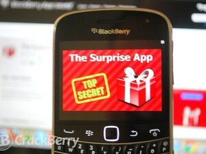 Want something new for your BlackBerry? Check out The Surprise App!