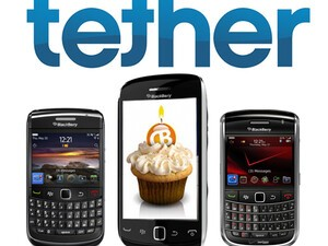 CrackBerry Birthday Contest: Win 1 of 3 BlackBerry Smartphones courtesy of Tether!