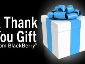 Last chance to download your BlackBerry Thank You Gifts