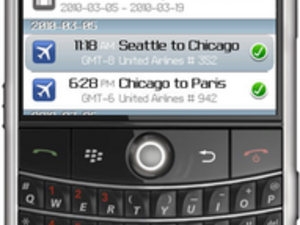 TripIt for BlackBerry Now Available