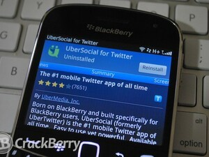 UberSocial for BlackBerry updated to version 1.350