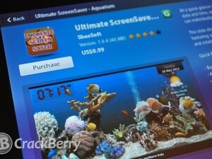 Ultimate ScreenSaver for your BlackBerry PlayBook