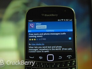 Free messaging and voice app Viber comes to BlackBerry