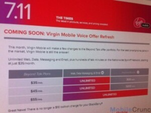 Virgin Mobile drops monthly BlackBerry fees in new pricing plans