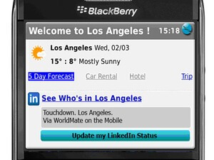 WorldMate for BlackBerry Adds Ability to Connect with LinkedIn Contacts - Win 1 of 4 Gold Subscriptions