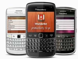 Wunderlist for BlackBerry now available