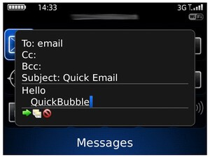 Review: QuickBubble for BlackBerry