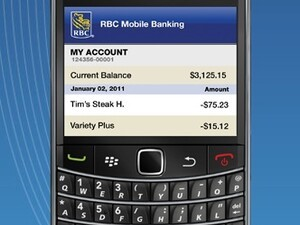 RBC launches mobile banking app for BlackBerry