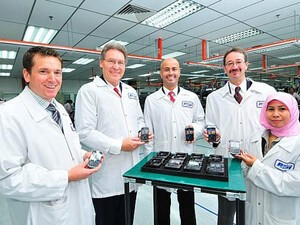 BlackBerry smartphones now being made in Malaysia