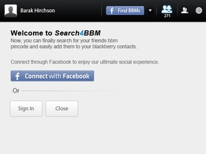 To share or not to share; that is the question that Search 4 BBM answers