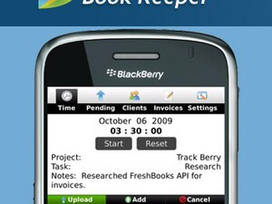 Review: Book Keeper for BlackBerry Smartphones