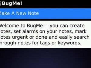 BugMe! for BlackBerry