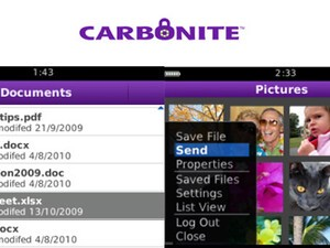Review: Carbonite for BlackBerry smartphones