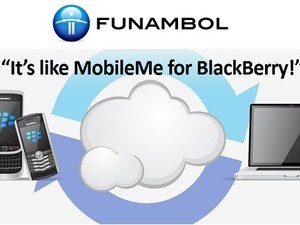 Funambol answers the call for 'MobileMe-like' service for BlackBerry