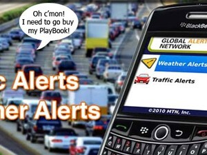 Global Alert Network warns of traffic and weather alerts - Defenseless against backseat drivers