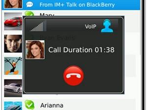 Review: IM+ Talk for BlackBerry