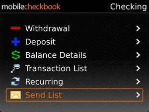 Quick Look: Mobile Checkbook updated for version 4.5 - 10 copies to be won!!
