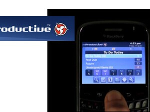 Review: mProductive for BlackBerry