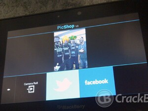 Quick Review: PicShop for the BlackBerry PlayBook