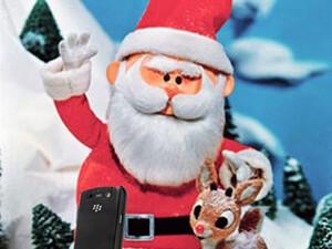 BlackBerry Apps for Santa