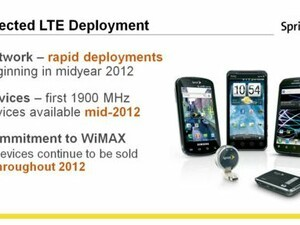 Sprint will start their LTE roll out in mid-2012