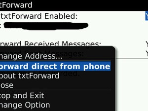 txtForward: SMS to Email Forwarding