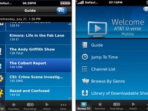 BlackBerrys and boob tubes: U-verse Mobile hits BlackBerry App World