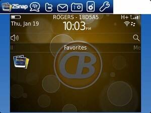 Quick Review: ZonaSnap for BlackBerry smartphones