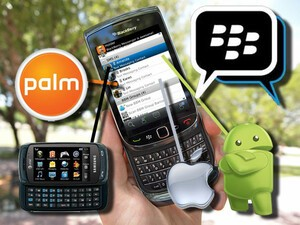 Text messaging using BlackBerry Messenger