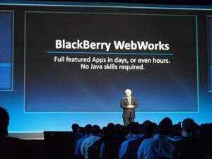BlackBerry WebWorks SDK for Smartphones v2.1 now available