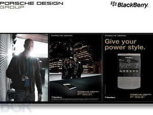 Porsche-designed BlackBerry P'9531 revealed