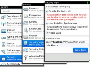 Tabula Rasa - How to wipe the data from your BlackBerry device, removing all personal information
