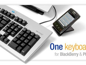 Matias One Keyboard for PC & BlackBerry and Matias Folding Keyboard for BlackBerry bring full-sized keyboards to your Smartphone