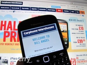Manage your mobile tariff with Bill Angel from Carphone Warehouse