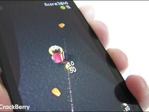He's a cheeky fella - Pop Corny comes to BlackBerry 10