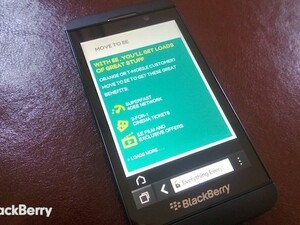 EE in the UK now offering BlackBerry Bold 9900 customers the chance to switch to 4G and a BlackBerry Z10
