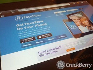 FaceFlow coming to BlackBerry 10 in Q1