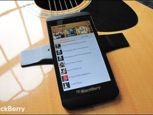 India's largest music website comes to BlackBerry 10 - check out Gaana