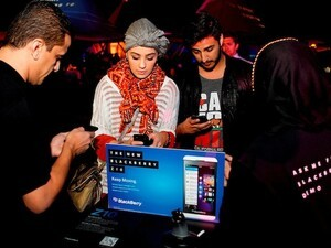 BlackBerry 10 and the Z10 launches in Kuwait