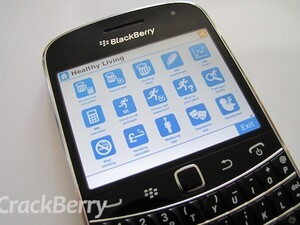 Need some health tips or motivation? The Healthy Living application comes to BlackBerry smartphones